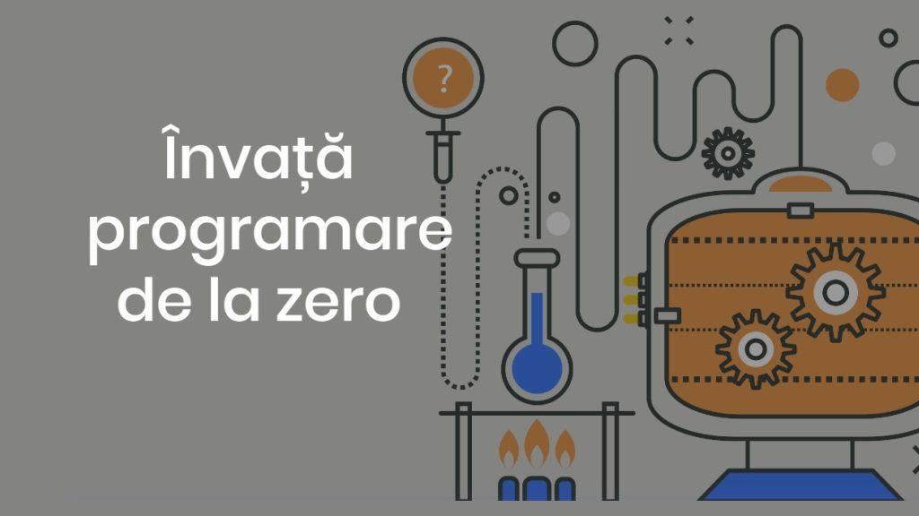 Învăță programare de la zero, online, gratuit, cu informațiile necesare într-un singur loc