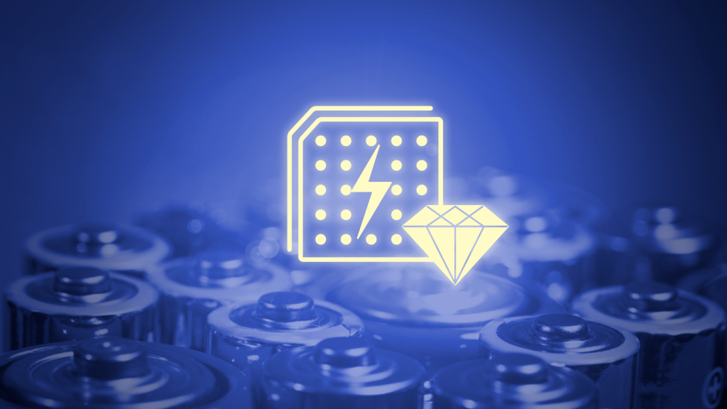 Baterii cu diamante pentru totdeauna, posibil să ajungă pe piață în 2023