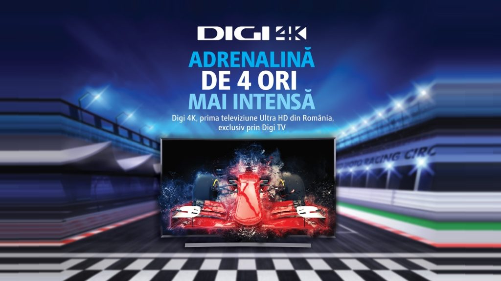 Digi 4K, prima televiziune Ultra HD din România