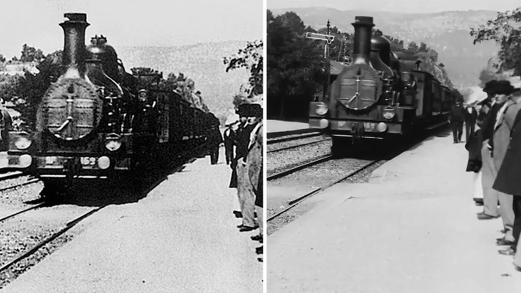 Scurtmetraj clasic din anul 1896 transformat la 4K și 60fps folosind AI