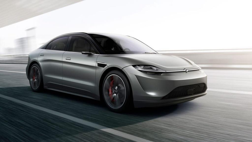 Sony anunță noul concept propriu de mașină electrică la CES 2020