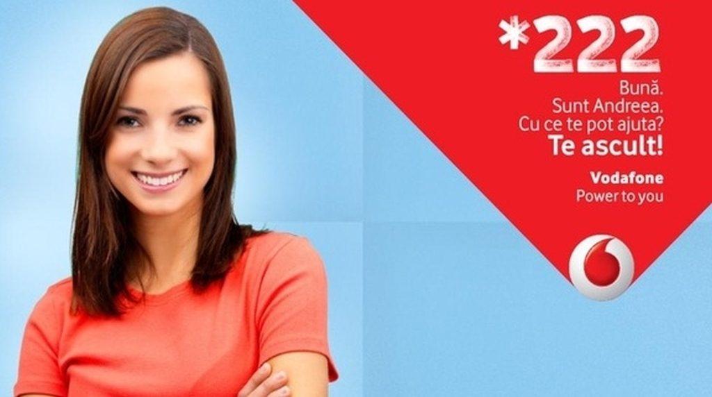 Vodafone – legătura cu un operator – relații cu clienții