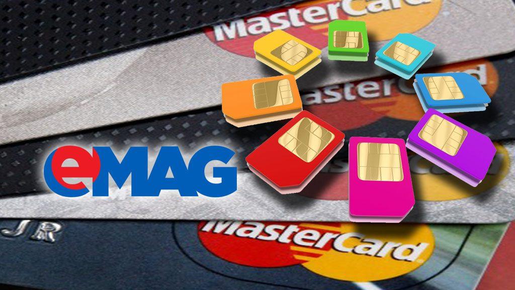 eMag oferă bonus 25 lei pentru reîncărcarea cartelelor prepay